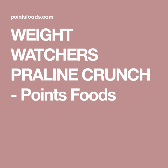Pin On Points Plus Recipes