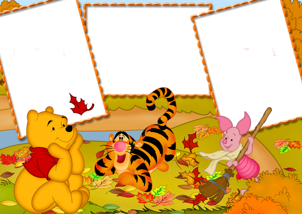 Frame Winnie the Pooh ( 150 ) ~ Il Magico Mondo dei Sogni Winnie de pooh Marcos para fotos