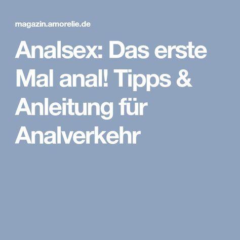 anleitung analsex