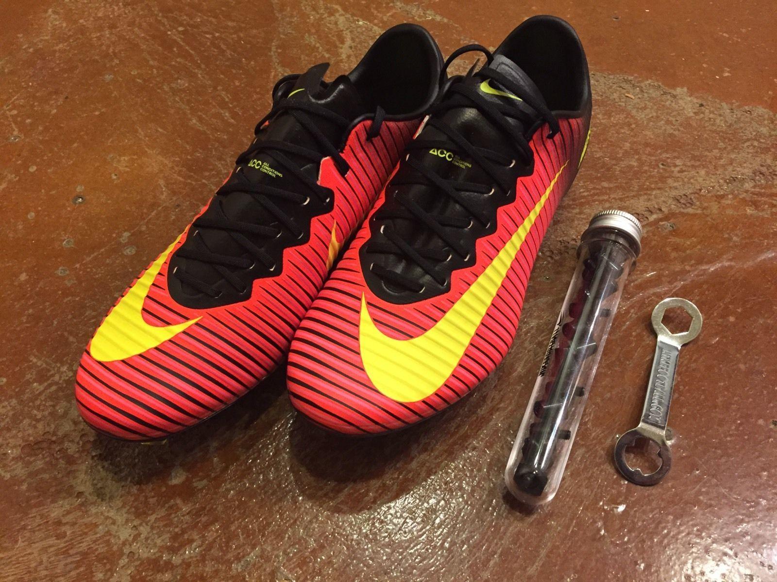 size 40 de616 88d49 NIKE MERCURIAL VAPOR XI 11 SG PRO Mens Soccer Shoes Cleats ...