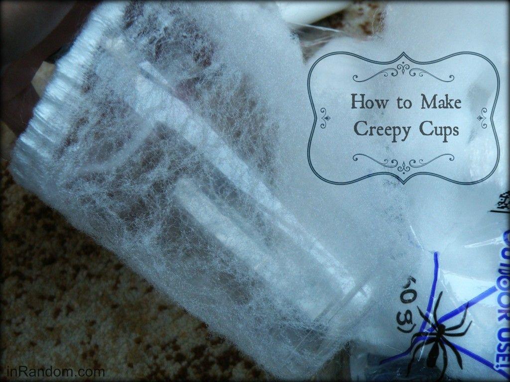 How to make Creepy Cups craft. #SpookyCelebration #shop #cbias