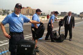 Long Beach Police Are Dusting Off Their Segway Pts For Boardwalk Use