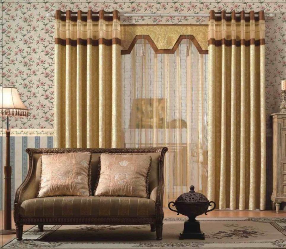 Luxurious gold modern living room curtain livingroom best ideas