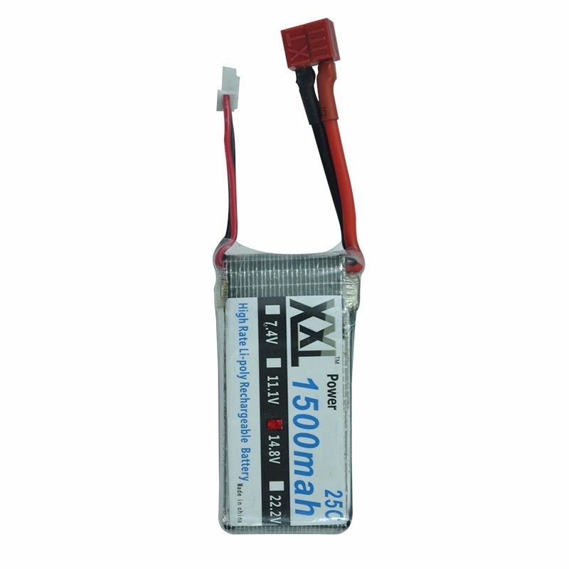 XXL 14.8V 25C 1500mah 25C max 50C battery Lipo QS8006-014 for 134cm QS8006 QS 8006 RC Helicopter