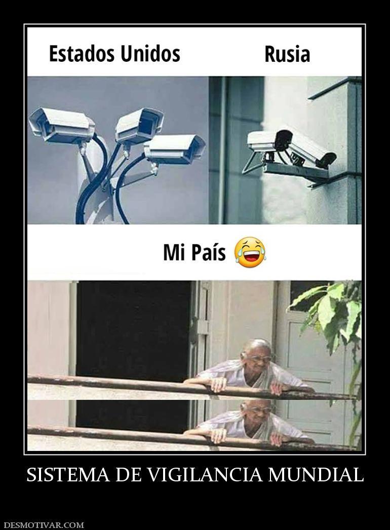 Sistema De Vigilancia Mundial Funny Pictures Funny Memes Funny