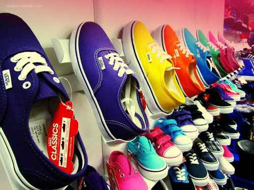 every color vans