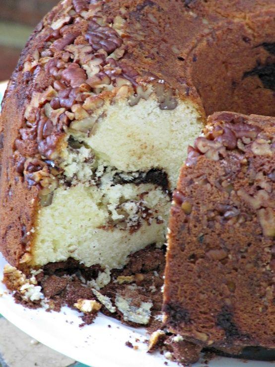 Cinnamon Cocoa Coffee Cake