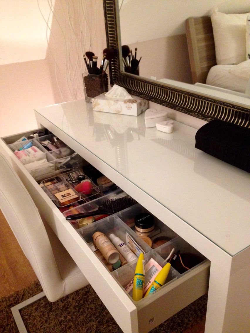 Ikea malm schminktisch aufbewahrung  Malm - Frisiertisch - Schminktisch | Wohnideen | Pinterest | Malm ...