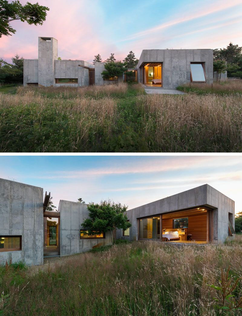 Best Kitchen Gallery: 13 Modern House Exteriors Made From Concrete Pinterest Concrete of Underground Concrete House on rachelxblog.com