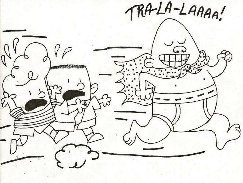 Captain Underpants The First Epic Movie Coloring Pages Captain Underpants Coloring Pages Cartoon Coloring Pages