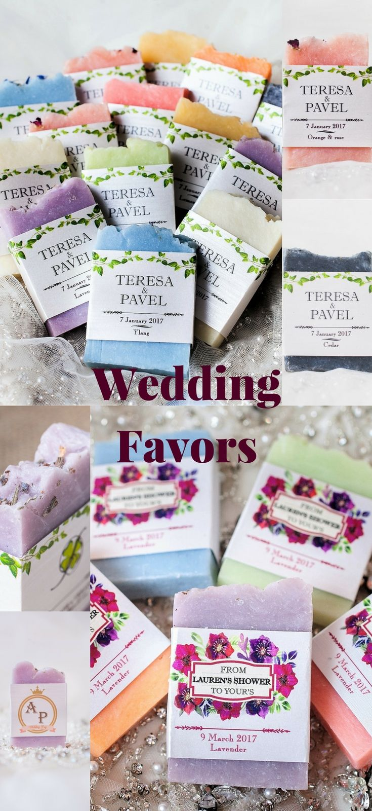 Wedding Soap Wedding Favors Wedding Favors Soap Bridal Shower