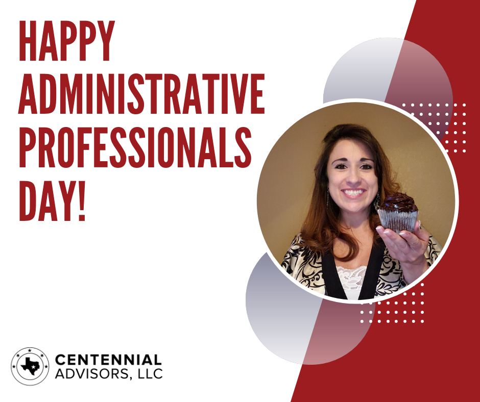 Happy Administrative Professionals Day to our