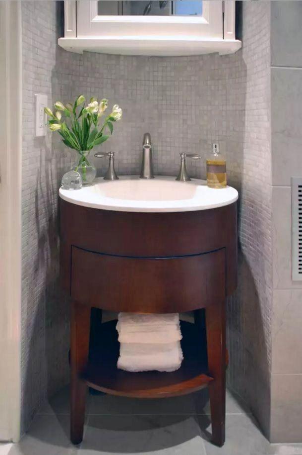 Small Bathroom Table Ideas Inspirational Small Bathroom Space Saving Vanity Ideas Small Desi In 2020 Small Bathroom Small Space Bathroom Vanity Small Bathroom Vanities
