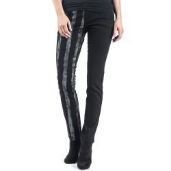Forplay Striped Leg Jeans Forplay