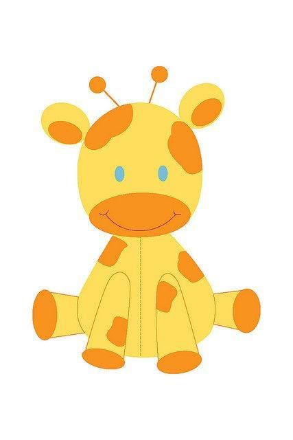 Pin By Crismel Cake On Risco Moldes Giraffe Colors Baby Giraffe Giraffe