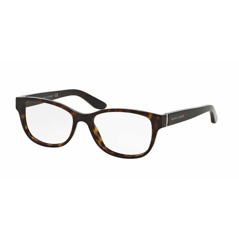 Ralph Lauren Womens RL6138 5003 Havana Rectangle Eyeglasses