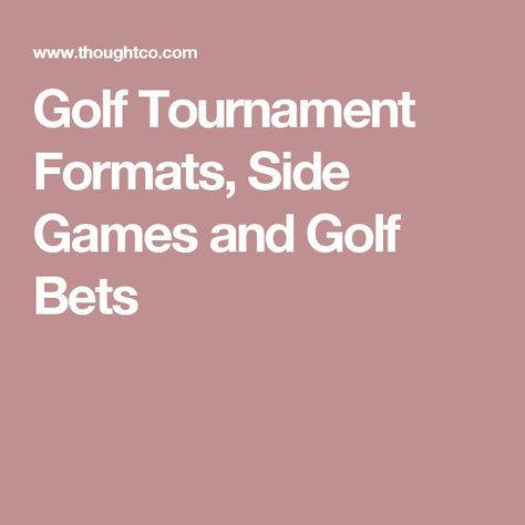 5 person golf betting games for tournament royal pirates betting everything english