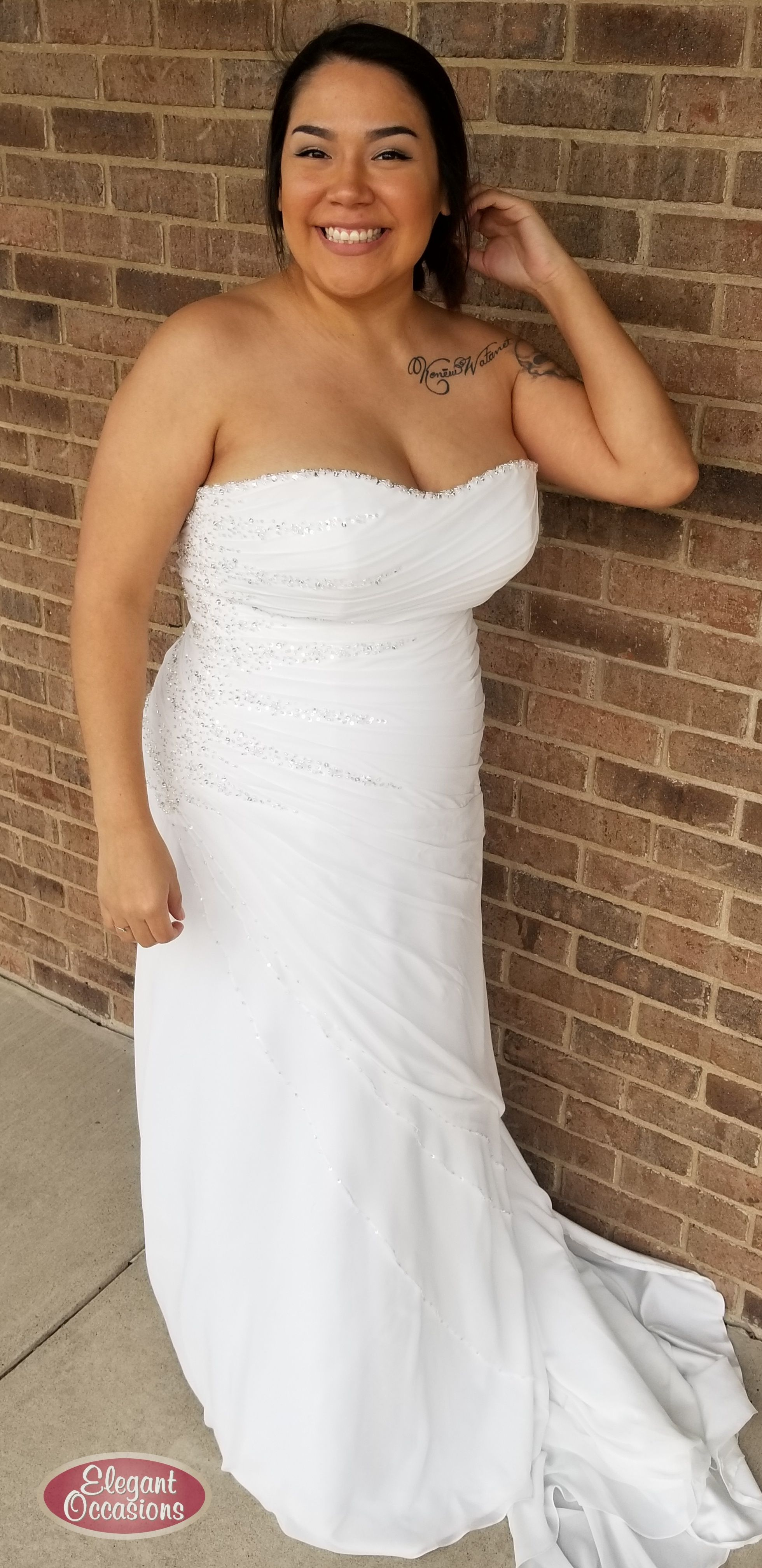 Plus size fitted wedding dress wedding dresses