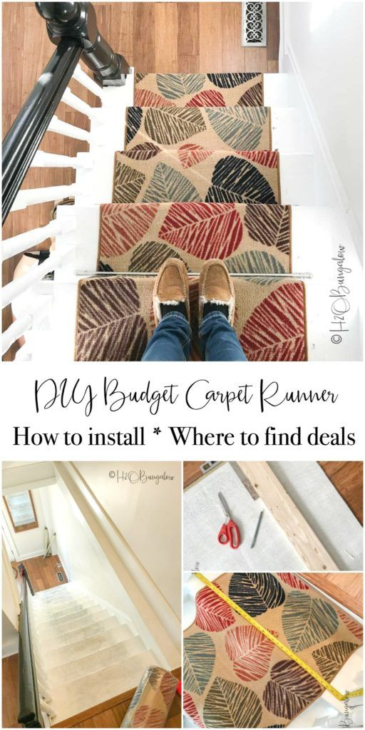 Best Diy Tutorial On How To Install Carpet Runner On Stairs And 400 x 300