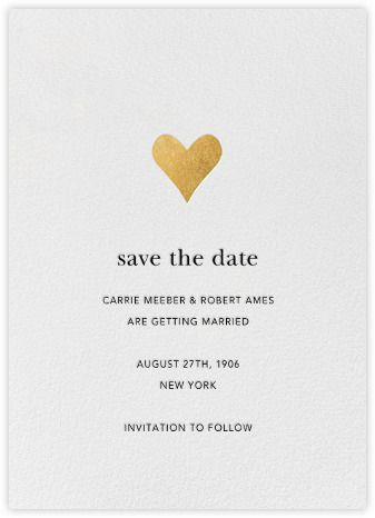 gilded heart paperless post katy dan s wedski pinterest