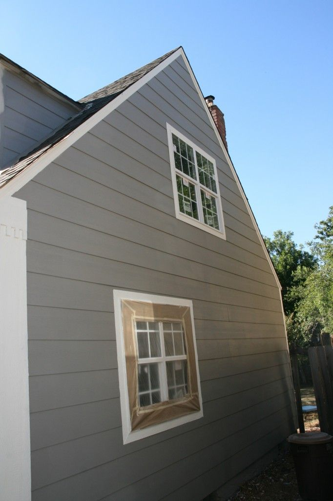 Sherwin williams dovetail in action trim is sherwin williams alabaster exterior designs for Sherwin williams dovetail gray exterior