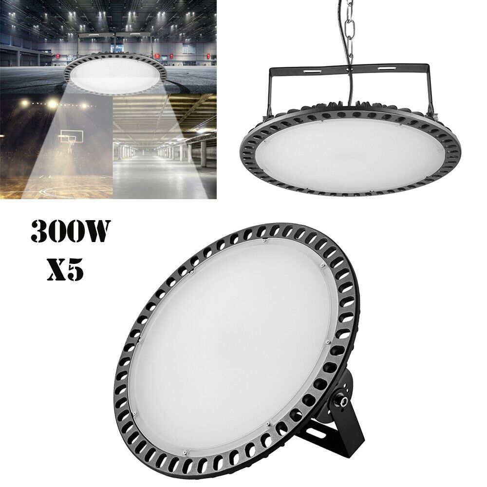 500W 200W 100W 50W UFO LED High Bay Light For Warehouse Factory Lighting Fixture