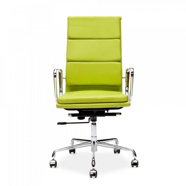 Apple Green Soft Pad Style Executive Office Chair office decor