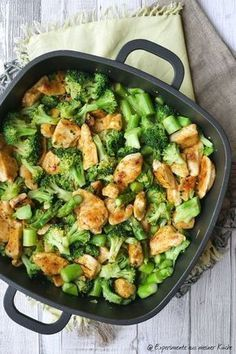 Lemon chicken with broccoli  Rezepte
