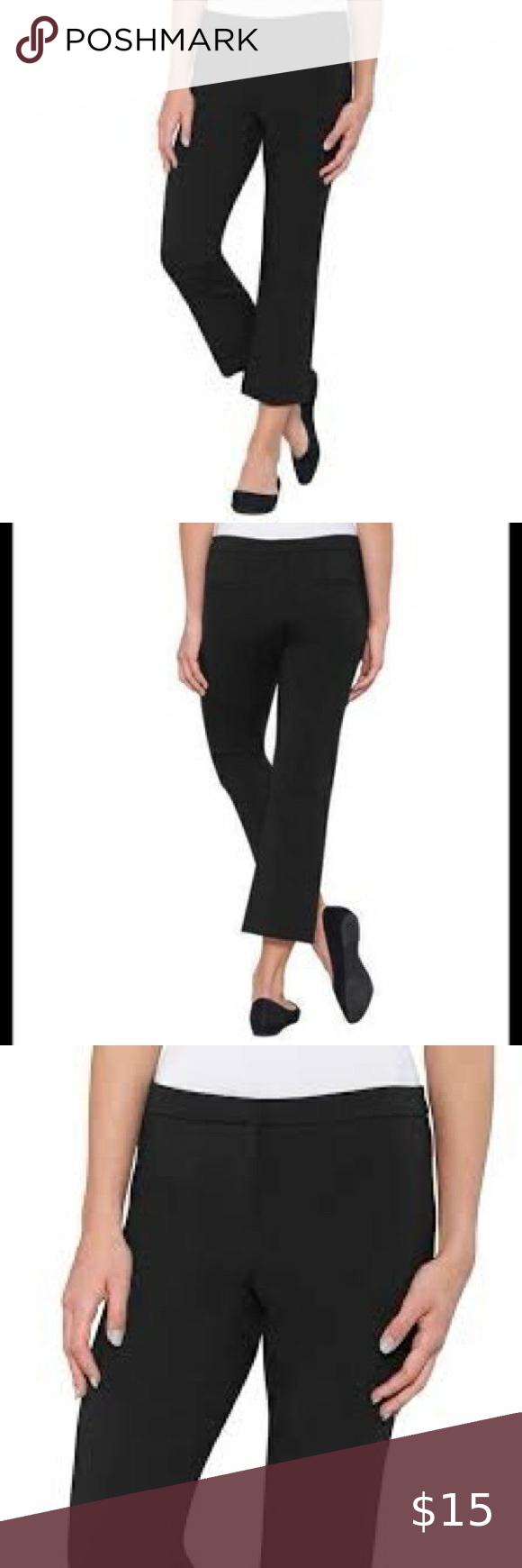 Max Mia Crop Dress Work Pants Size Medium Capri Dress Pants Crop Dress Dresses For Work [ 1740 x 580 Pixel ]