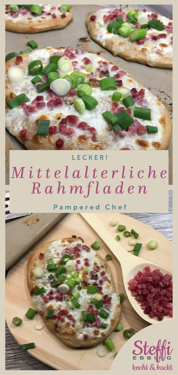 ᐅ Rezept Rahmfladen ⇒ Zauberstein • Pampered Chef