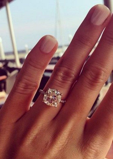 50 Engagement Rings That Wow Pinterest Engagement Ring And Wedding