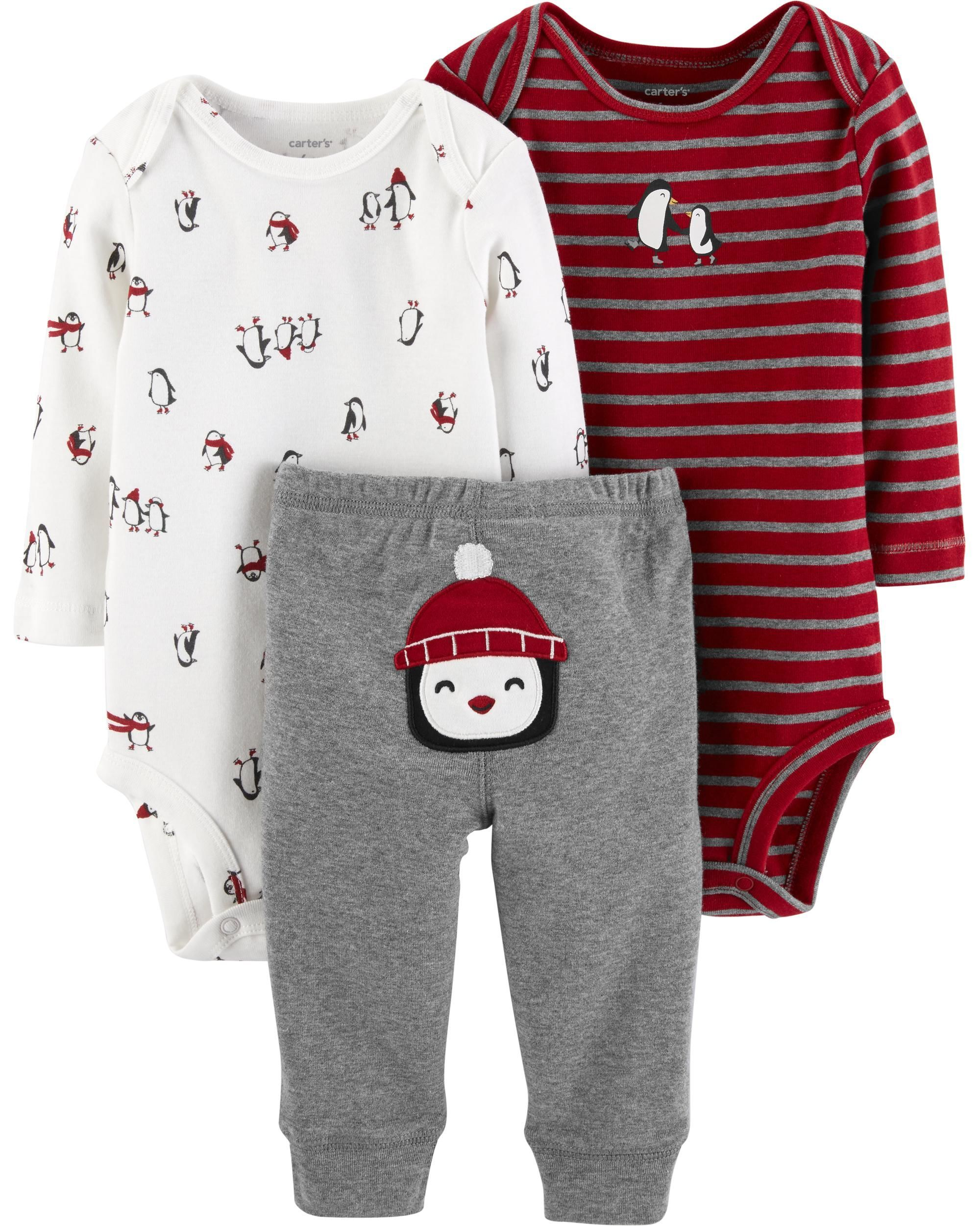 ad218ae03 3-Piece Little Character Set | Babies clothes | Kids outfits, Boy ...