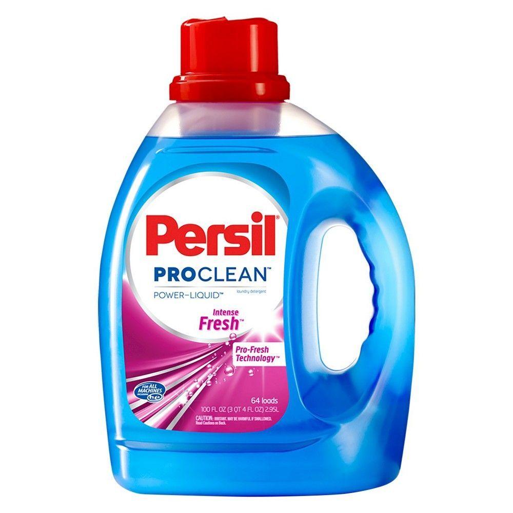 Persil Intense Fresh Liquid Laundry Detergent 100oz Detergente