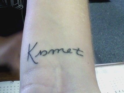 Kismet Turkish for fate | tattoos and piercings | Tattoo ...