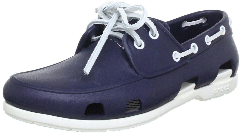 Crocs Beach Line Boat Shoe Men, Chaussures bateau homme: Amazon.fr:  Chaussures
