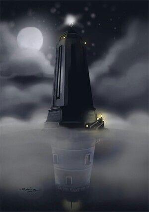 Bioshock and Bioshock Infinite light houses.