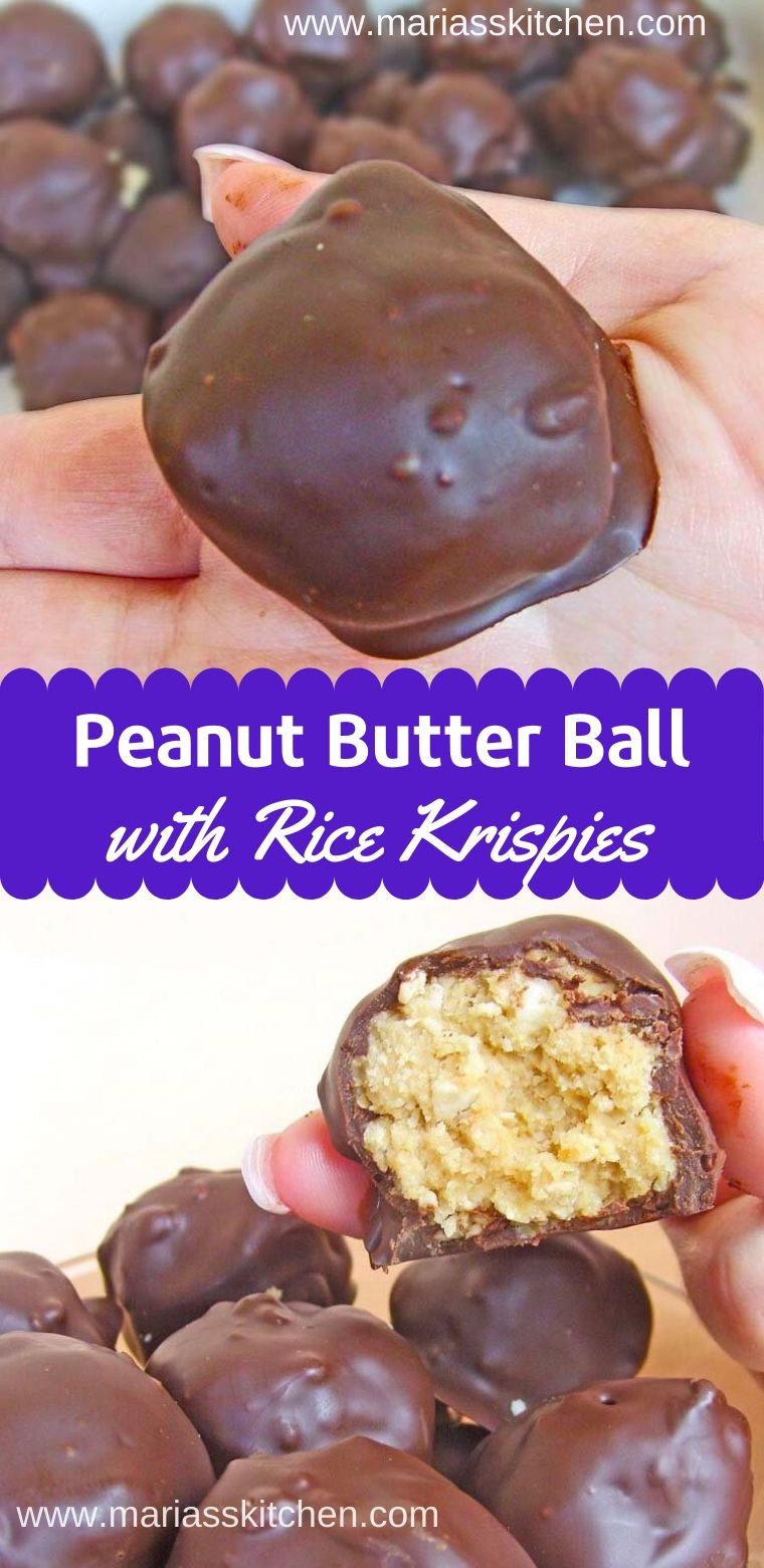 Easy Peanut Butter Balls Rice Krispies Recipe