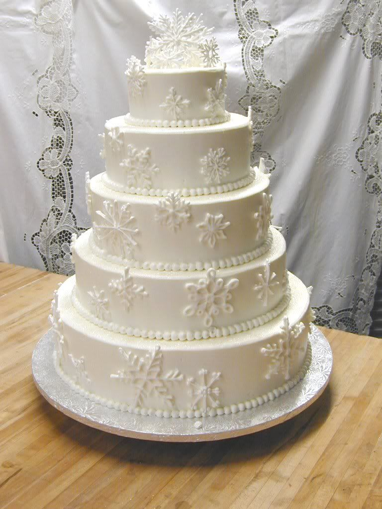snowflake tiered cake | Silvermoon Sweetery | Indulge your Sweet ...