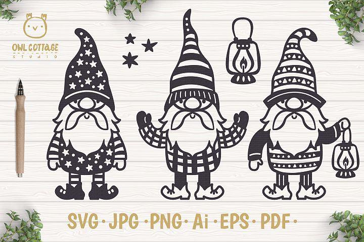 Scandinavian Gnomes Svg Gnome Clipart Tomte 408498 Illustrations Design Bundles Clip Art Gnomes Scandinavian Gnomes