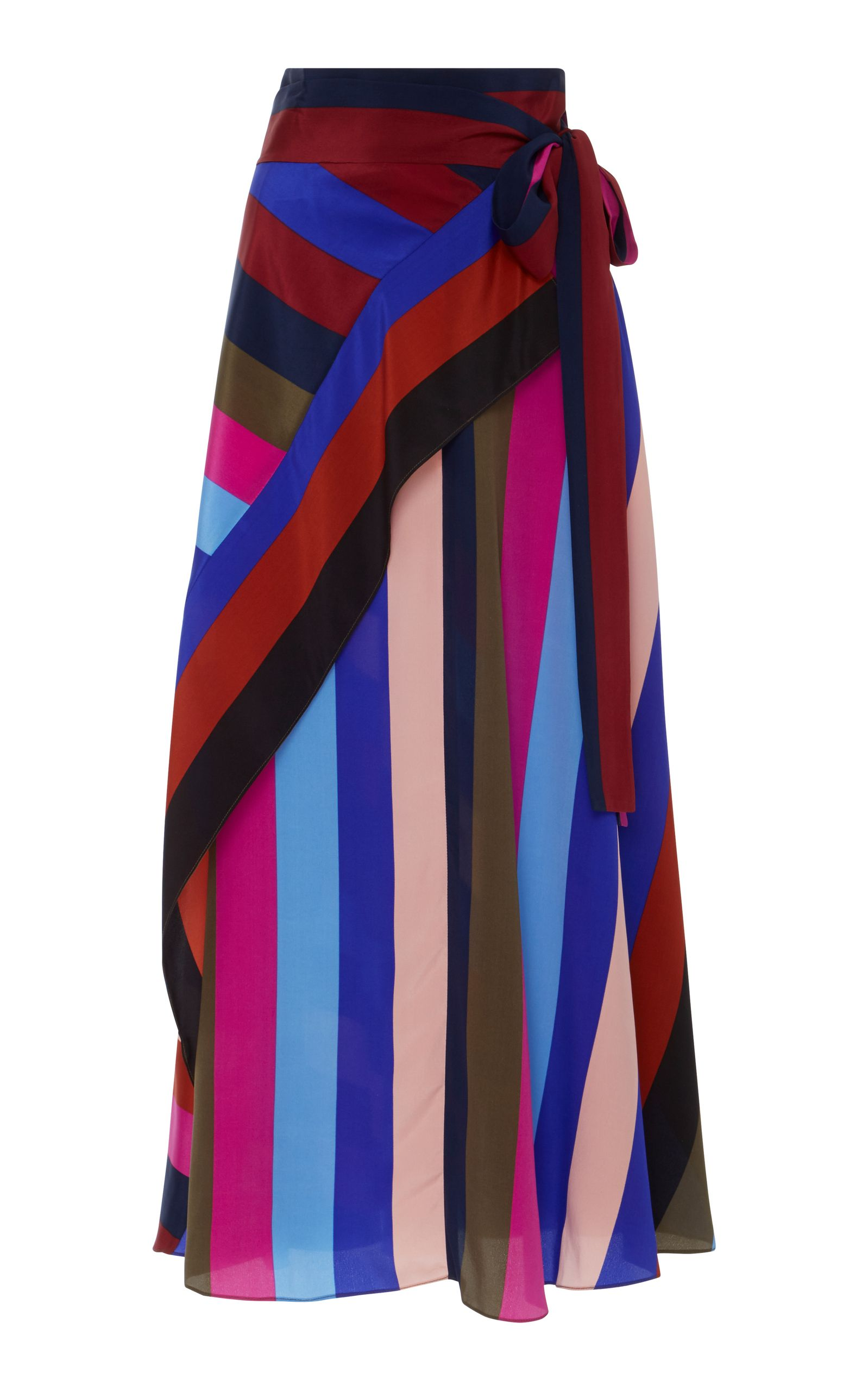 Draped Wrap Maxi Skirt by DIANE VON FURSTENBERG for Preorder on ...