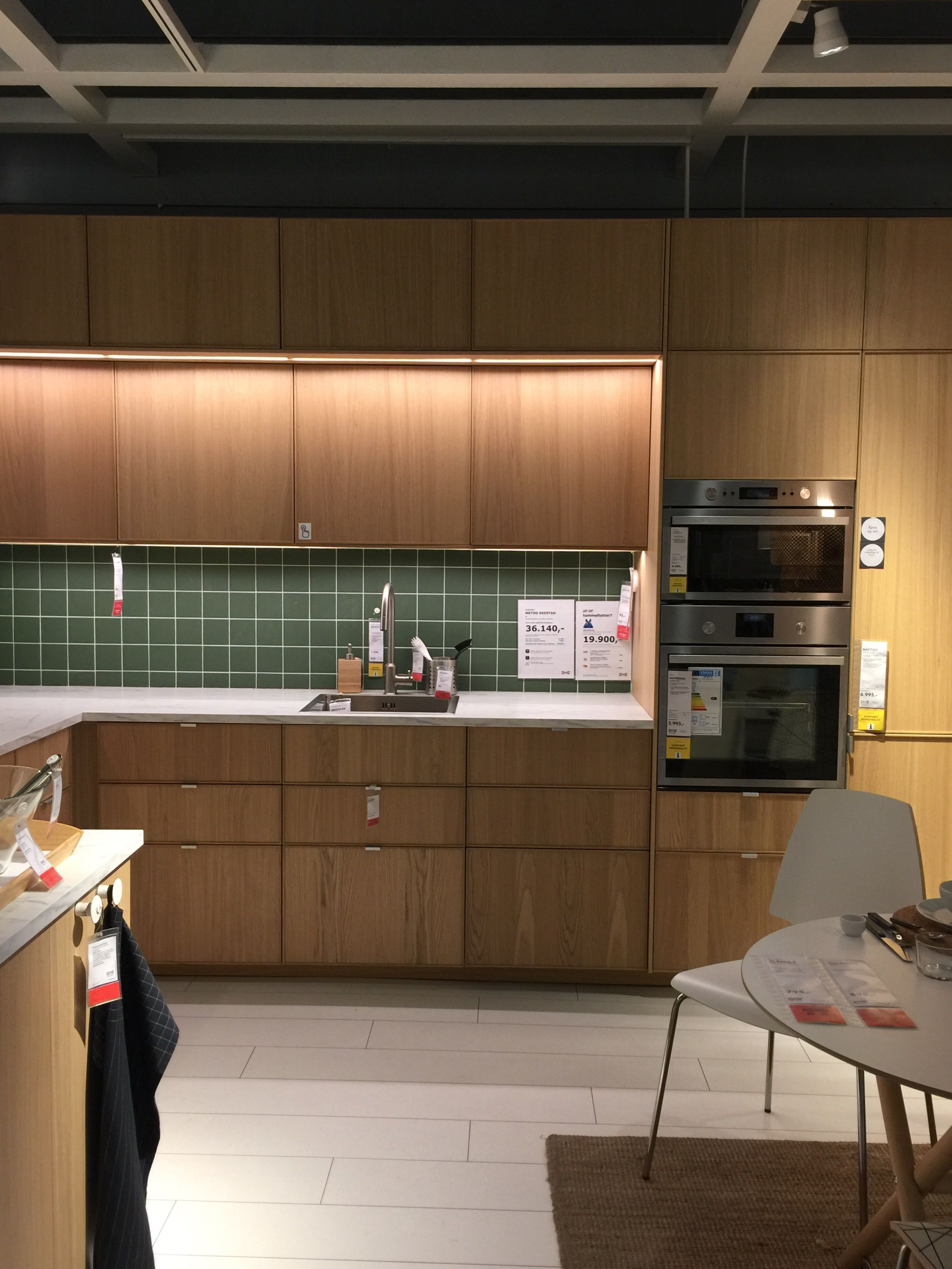IKEA Metod Ekestad | hh | Pinterest | Kitchens, Kitchen design and ...