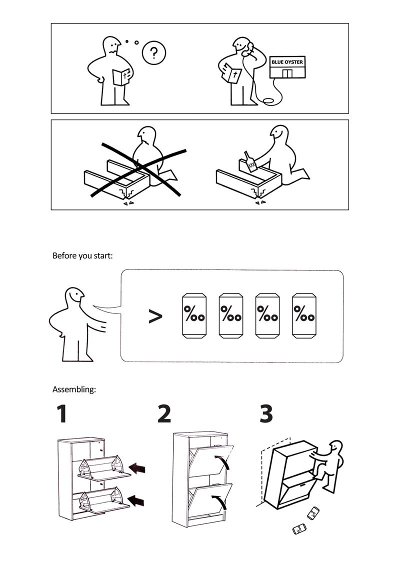 what your ikea manual should really look like ikea. Black Bedroom Furniture Sets. Home Design Ideas