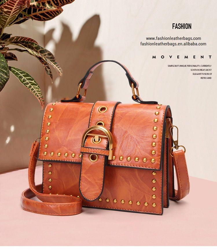 3013ea6501 2018 hot sale factory direct price ladies bags wholesale custom brown color  branded designer handbag