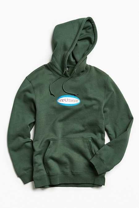 e96cf532f956 Stussy Oval Embroidered Hoodie Sweatshirt