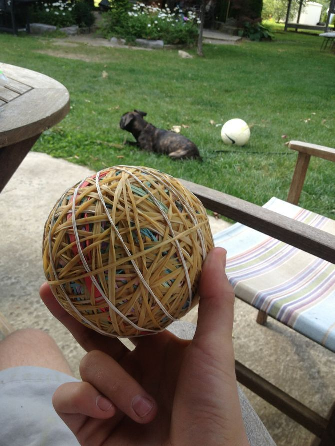 Make A Rubber Band Ball Totally Me Rubber Band Crafts