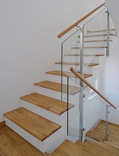 Glas Treppengelander Living Pinterest Banisters Staircases