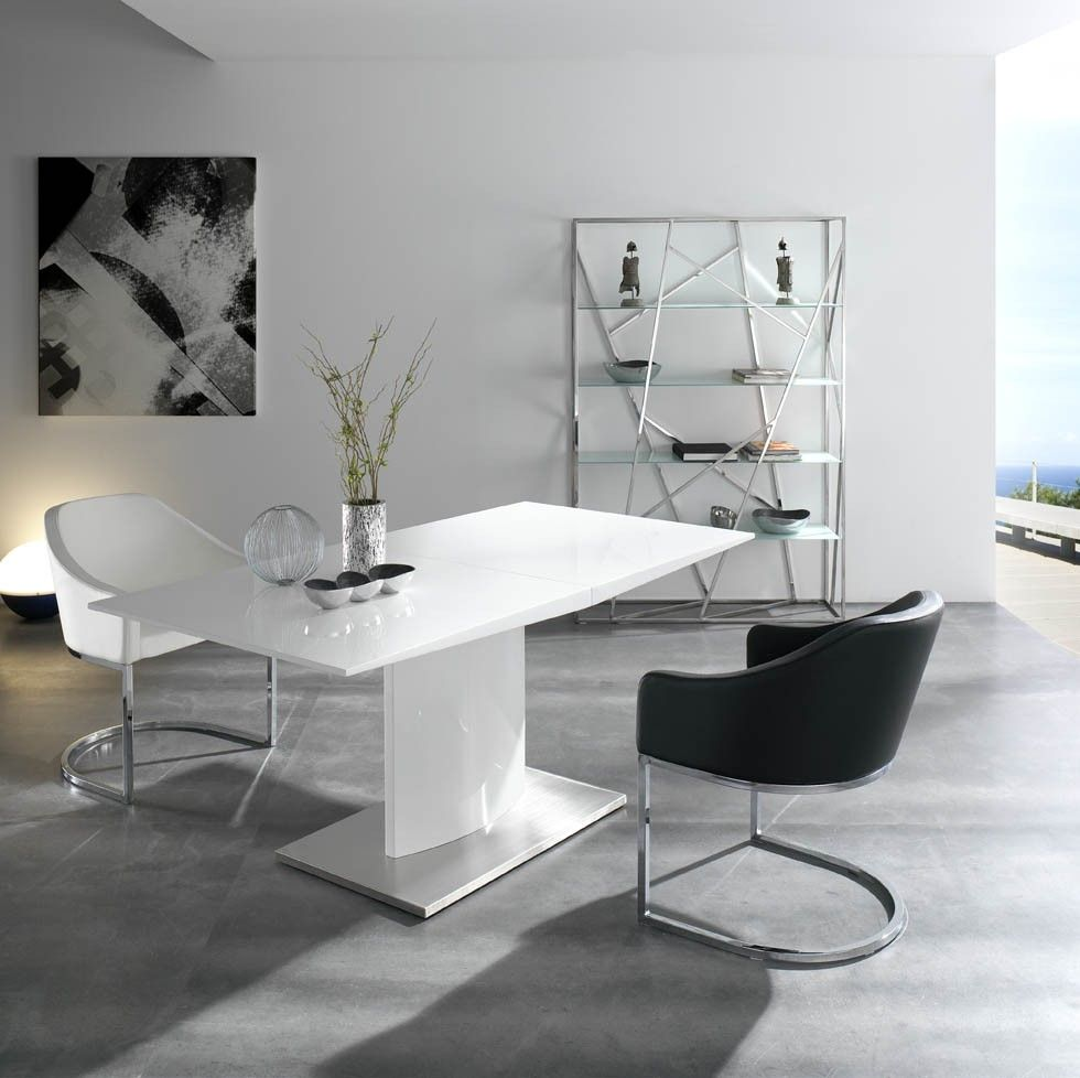 Mesa de comedor extensible ngl0001 muy bonita me quedo - Mesa de comedor ...