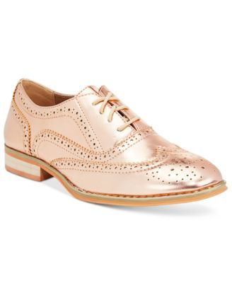Wanted Babe Lace-Up Oxfords | macys.com