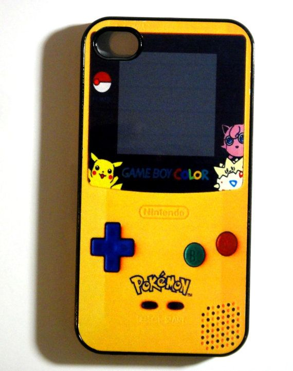 Pokemon Gameboy iphone 4 case iphone case by ExpressoPrint