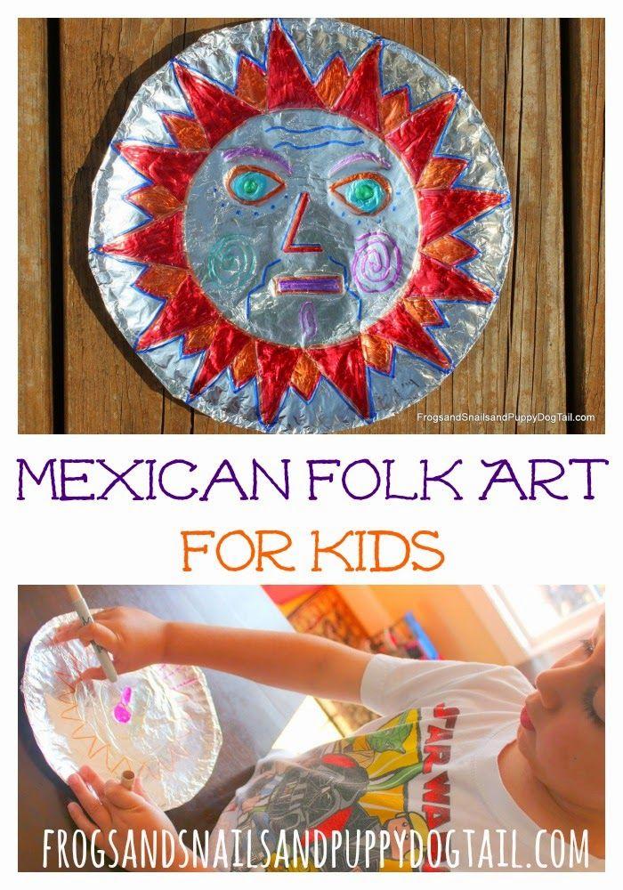 Mexican Folk Art Hojalata Art Project Kids